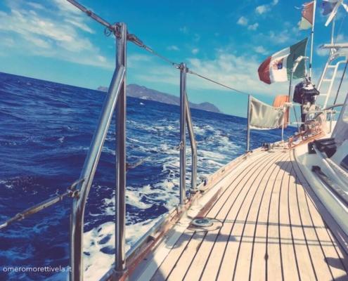 week end in barca a vela Freya navigazione