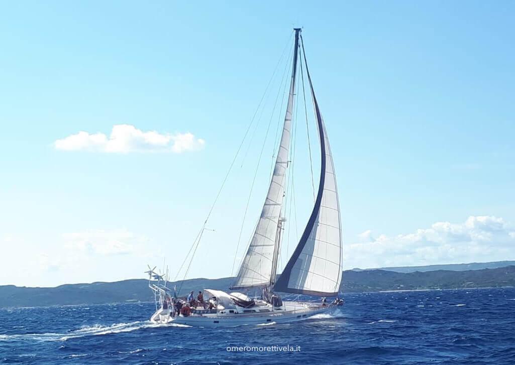 week end in barca a vela navigazione