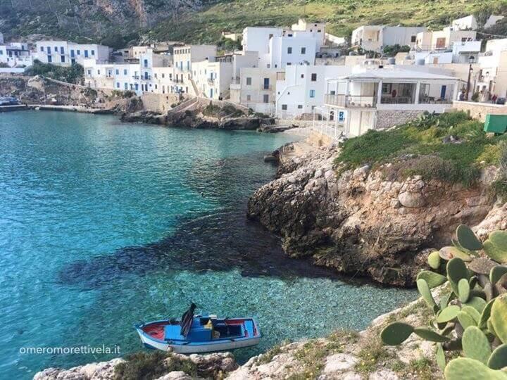 week end in barca a vela egadi levanzo